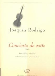 Concierto de estío (reducción para violín y piano)