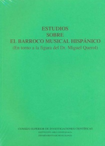 Estudios sobre el Barroco musical hispánico