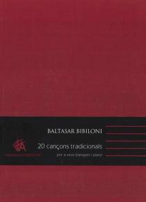 20 Cançons tradicionals per a veus blanques i piano (3º edició)