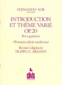 Introducción y tema variado, op. 20