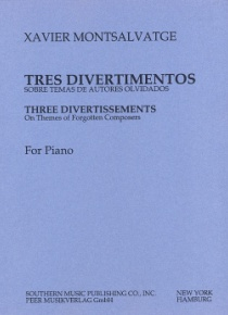 Three divertissements