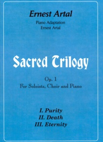 Sacred Trilogy for Soloists, choir and piano op.1