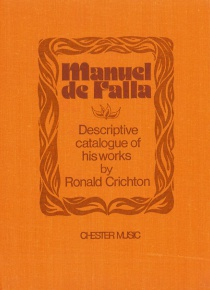 Manuel de Falla. Descriptive catalogue of his works