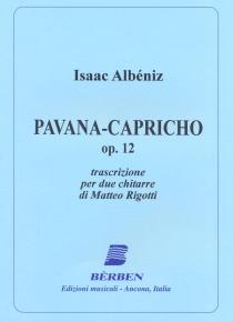 Pavana-capricho op. 12