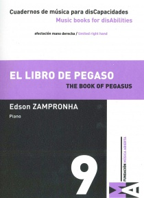 Cuadernos de Música para discapacidades vol 9 - The book of Pegaso
