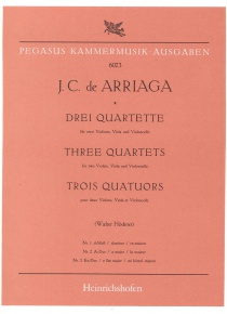 Drei Quartette (1,2 und 3)in Eb Major (parts)