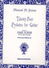 24 Preludes for guitar