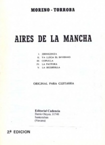 Aires de la Mancha (original for guitar)