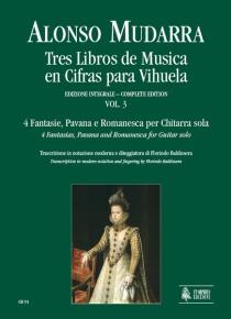 Tres libros de música para vihuela vol. 3