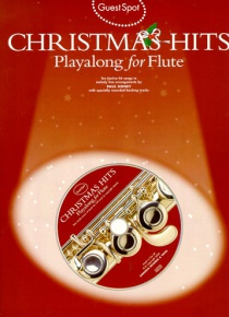 Christmas Hits playalong for flute