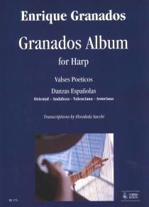 Album de Granados para arpa