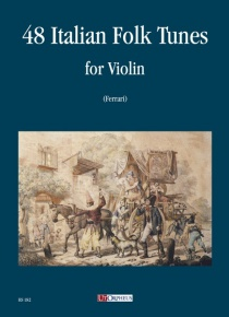 48 Italian Folk Tunes for Violin, de
