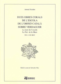 Two choral works from the Orfeó Català school on poems by Verdaguer