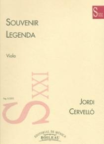 Souvenir / Legenda, de Jordi Cervelló