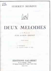 Deux mélodies