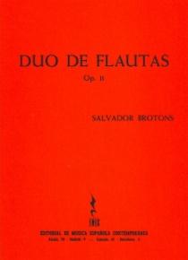 Flute Duo op. 11
