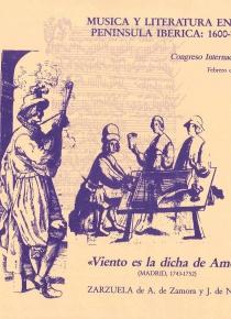 Viento de dicha es amor:Zarzuela en dos. (llibret)