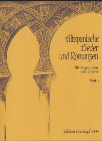 Old Spanish songs and romances III. Nine old Spanish folk-songs
