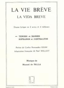 La vida breve (tenors et basses)
