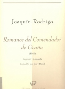 Romance del comendador de Ocaña (voice and piano reduction)