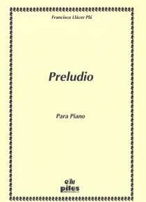 Preludio for piano