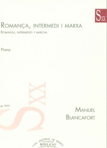 Romanza, Intermezzo and  March
