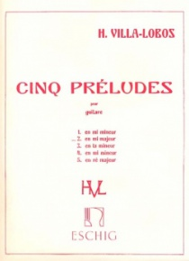 Prelude nº 2, for guitar
