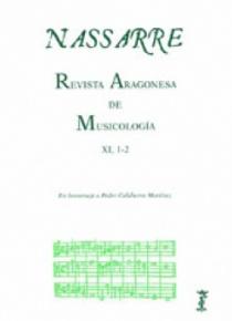 Nassarre. Revista Aragonesa de Musicología, XI, 1 y 2