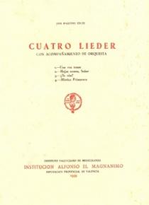 Four Lieder