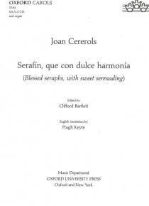 Serafín que con dulce armonía (vocal score)