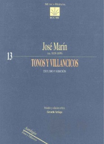 Tonos y villancicos. Study and edition.