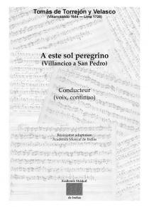 A este Sol peregrino - Villancico to St. Peter