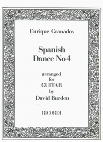 Spanish dance nº 4 (guitarra)
