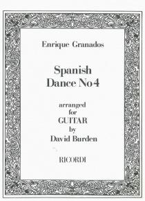 Spanish dance nº 4 (guitarra)