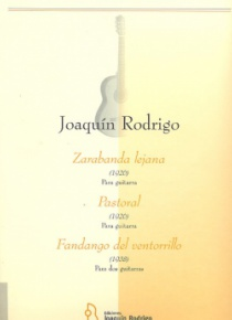 Zarabanda lejana-Pastoral-Fandango del ventorrillo