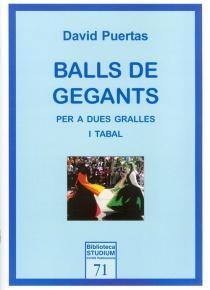 Balls de gegants per a dues gralles i tabal