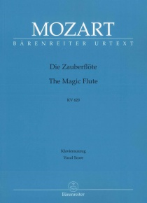 The magic flute (piano reduction) KV620