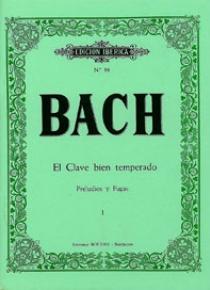 Preludios y fugas Vol.I, by Johann Sebastian Bach