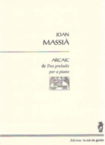 Arcaic de Tres preludis per a piano