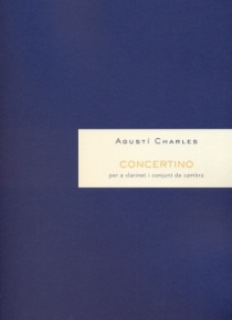 Concertino for clarinet and chamber ensemble