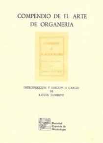 Compendio de el arte de organería