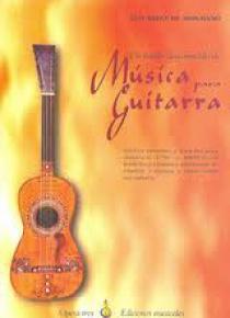 Un fondo desconocido de Música para Guitarra