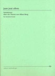 Variationen über ein Thema von Alban Berg
