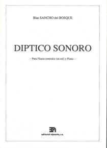 Díptico sonoro (for G flute)