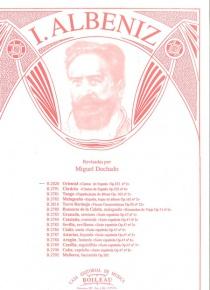 Oriental, de Cantos de España, op.232, nº 2