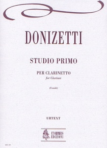 Studio primo for Clarinet in B flat, de Gaetano Donizetti
