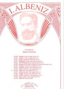 Cádiz, de la Suite española, op.47, nº 4