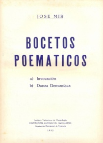Bocetos poemáticos