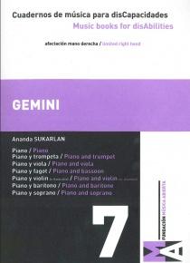 Cuadernos de Música para discapacidades vol 7 - Gemini