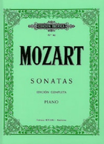 Sonatas. Ed.completa, by Wolfgang A. Mozart